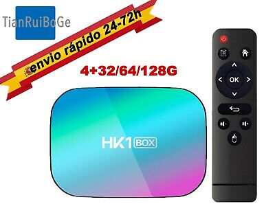 HK1 Box Android 9.0 TV BOX Amlogic S905X3 8K 4-Core 2.4/5G WIFI DUAL BT TV CAJA