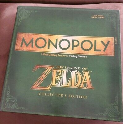 The Legend of Zelda Edition Monopoly English Board Game Spiel Englisch