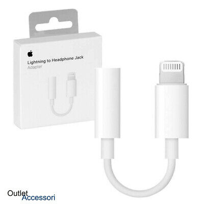 Adattatore da Lightning a Jack Cuffie Apple MMX62ZMA (3.5mm)