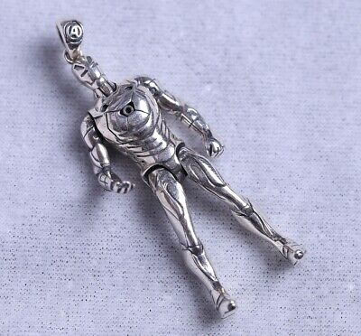 925 Silver Real Silver Pendant Handmade Craft Mascot Collection Gift