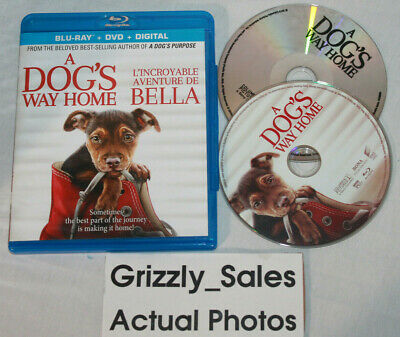 USED A Dog's Way Home Blu-Ray -Canadian Seller-