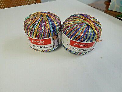 3Pk Premier Yarns 11-217 Spangle Yarn-Spanish Nights