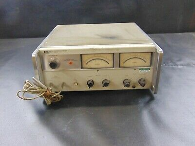 VINTAGE HP 8405A 1-1000MHz Magnitude/Phase Vector Voltmeter w/ 2 Probes