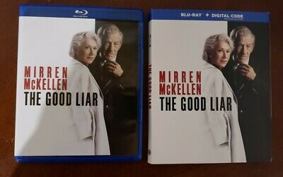 The Good Liar (Blu-ray and DVD, 2019) Mirren, McKellen - No Digital