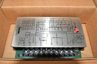 New Qualitrol 909-200-01 Relay And Timer Switch Seal-In Relay