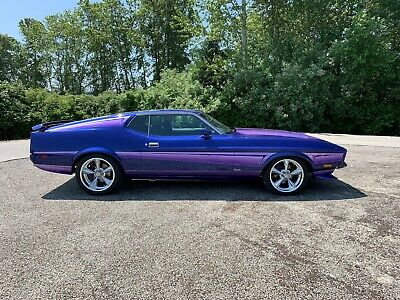 1971 Ford Mustang Mach 1 1971 Ford mustang Mach 1 429ci, show car, custom, modified, mustang, fastback