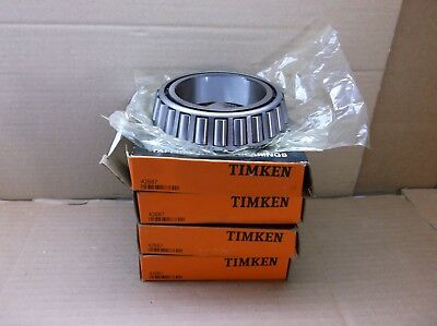 42687 Timken NEW In Box Tapered Roller Bearing