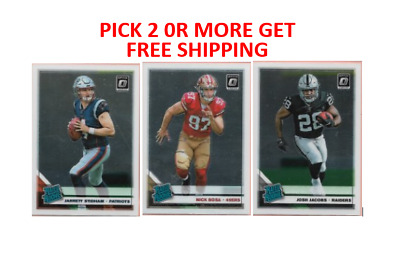 2019 Donruss Optic Football Rated Rookies etc Pick 2 or More Get Free Shipping