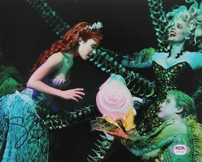 Disney Ariel The Little Mermaid the Musical Signed by Sierra Boggess 8x10 Photo