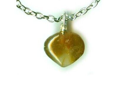 Antique 15ct Carnelian Quartz Heart Pendant Ancient Rome's #1 Favorite Gemstone