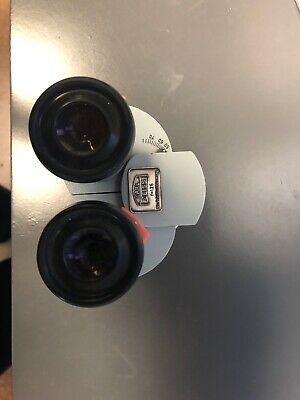 Carl Zeiss F=125 Opmi Binocular Head With Eyepieces x12.5.