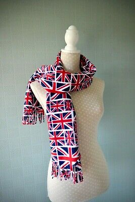 Unisex Patriotic Irish//Scottish//UK Scarf Flag Neck//Head Satin Stripe