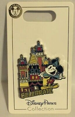 Disney Parks - Mickey's 90th Birthday - Let's Celebrate - Trading Pin NEW
