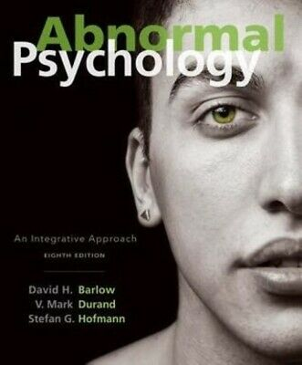 Abnormal Psychology An Integrative Approach 8th Edition (PÐF)