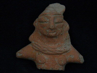 Ancient Teracotta Mother Goddess Torso Indus Valley 600 BC #SG2473