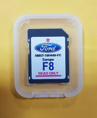 Ford F8 2019/2020 Navigation Europe Carte Carte Sd Sync 2 Focus Kuga S-Max...