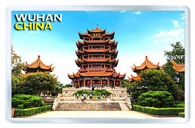 Wuhan China Mod2 Fridge Magnet Souvenir Iman Nevera