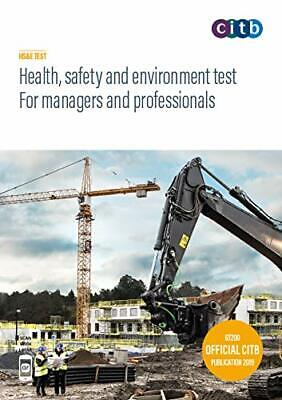 Health, safety and environment test for managers an by Health New Paperback Book