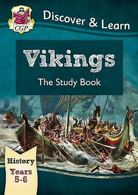 KS2 Discover & Learn: History - Vikings Study Book, Ye by CGP New Paperback Book