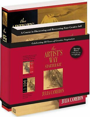 The Artist's Way Starter Kit by Julia Cameron New Paperback Book