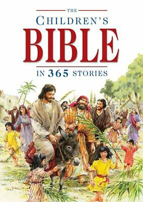 The Children's Bible in 365 Stories by Mary Batchelor New Hardcover Book