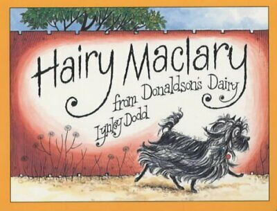 Hairy Maclary from Donaldson's Dairy (Hairy M by Lynley Dodd New Board book Book