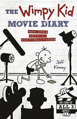 The Wimpy Kid Movie Diary: How Greg Heffley We by Jeff Kinney New Hardcover Book
