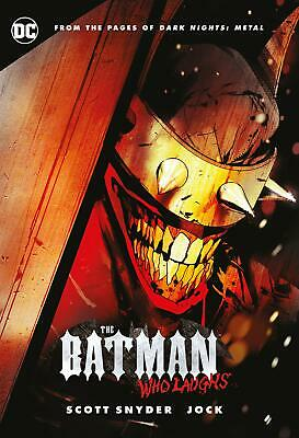 The Batman Who Laughs by Scott Snyder New Hardcover Book