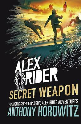 Alex Rider: Secret Weapon by Anthony Horowitz New Hardcover Book