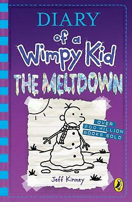 Diary of a Wimpy Kid: The Meltdown (Book 13) ( by Jeff Kinney New Paperback Book