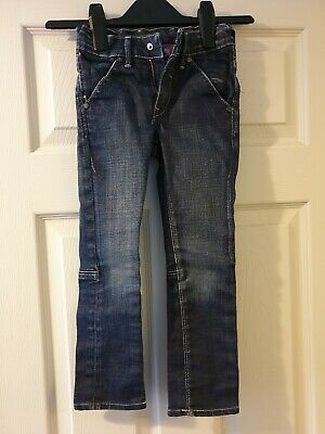 Boys skinny blue jeans from H&M SQIN. Age 4-5 years, adjustable waist