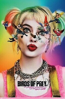 BIRDS OF PREY - HARLEY QUINN TEASER POSTER - 22x34 - MOVIE 18412
