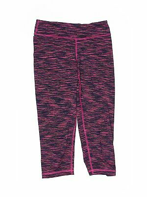 90 Degree by Reflex Girls Pink Active Pants 10