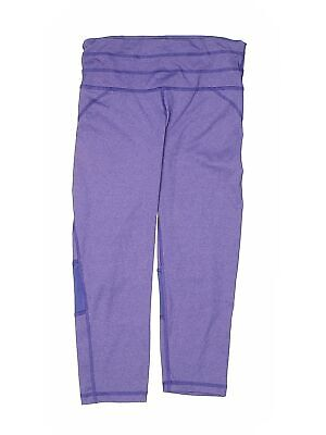 90 Degree by Reflex Girls Purple Active Pants XS Youth