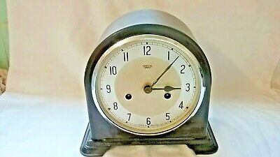 Smiths Enfiels bakerlite domed mantle clock,,no glass or keys