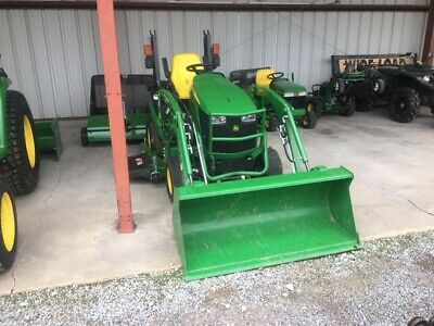 """2019 John Deere 1025R with 60"""" Mower Deck & Loader Only 24 hours"""