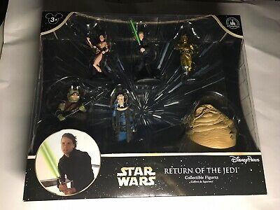 Star Wars Disney Parks Authentic Return Of The Jedi Collectible Figure Set