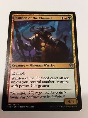 4 Chained to the Rocks = White Theros Mtg Magic Rare 4x x4