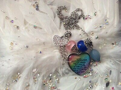 Code 742 Step daughter Agate Angel Wing Necklace European Birthday Christmas
