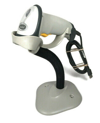 BARCODE SCANNER Symbol Technologies LS2208-SR20001 Barcode Scanner USB w STAND