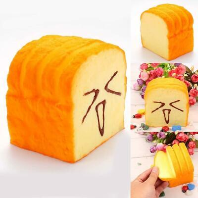 Cute Smile Super Slow Rising Sweet Smell Simulated Toast Squeeze Toy Fun s2zl