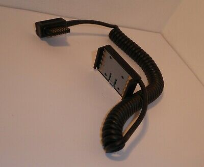 RARE , AUTHENTIC METZ SCA 500A CORD for 45CT-5 & 60 with Adapter .