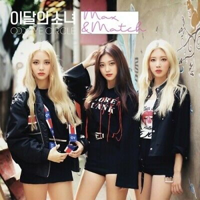Monthly Girl Odd Eye Circle-[Max&Match]Reissue Normal Ver CD+Book+Card+Tracking