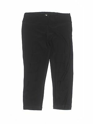 90 Degree by Reflex Girls Black Active Pants S Youth