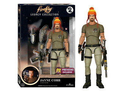 Firefly Legacy Collection Jayne Cobb With Hat Action Figure