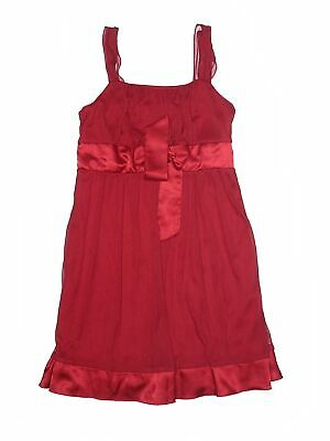 City Triangles Girls Red Special Occasion Dress Large kids