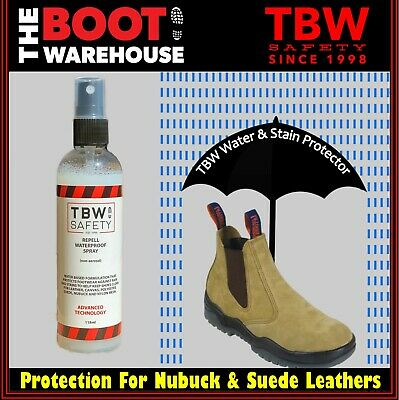 TBW Water & Stain Protection For Nubuck & Suede Leathers - Mongrel, Oliver Boots