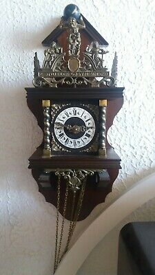 Vintage NU ELCK SYN SON Clock  not sure how it works