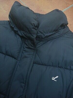 Girls Black Lightweight H & M Puffer Jacket Age 10-11 Eur 146
