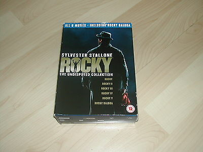 ***STOP HERE*** Sylvester Stallone - Rocky - The Undisputed Collection